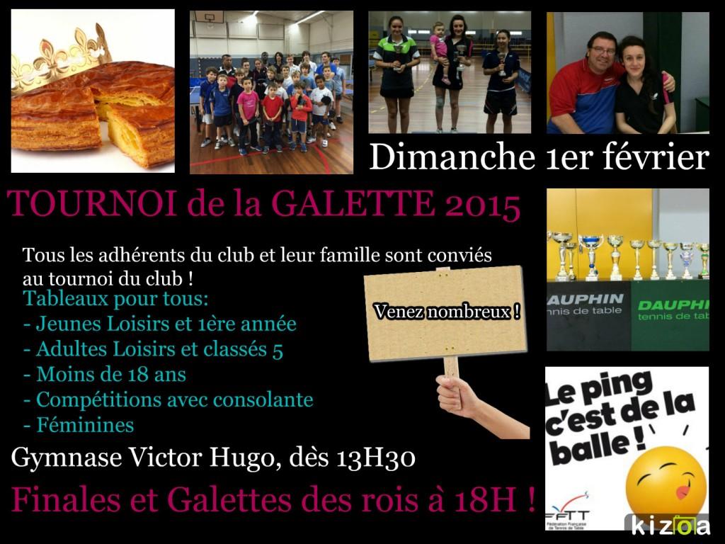 Tournoi de la Galette 2015