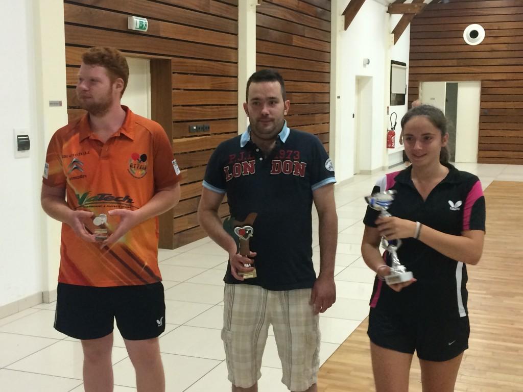 Astrid gagne son tableau au tournoi de Chamboulive