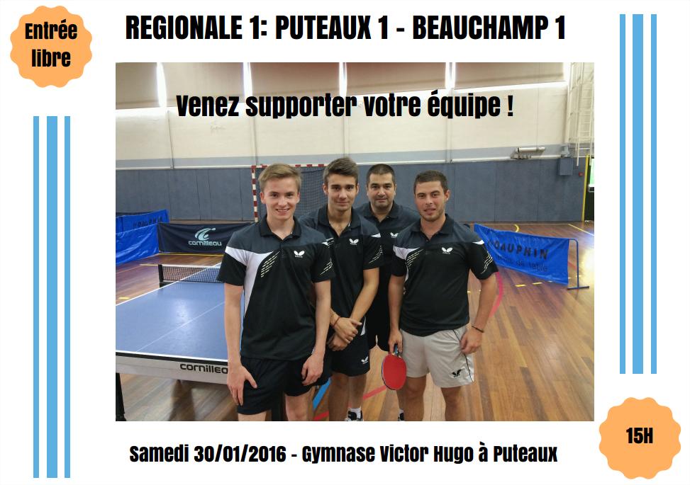 Régionale 1 - 30 janvier 2016